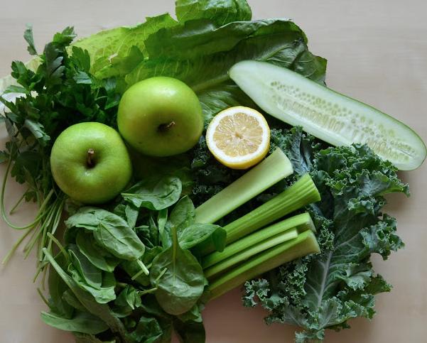 Zutaten für meinen Green Monster Smoothie