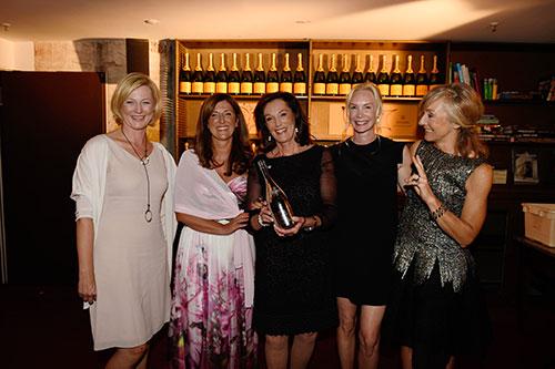 Die fünf Finalistinnen des Prix Veuve Clicquot 2014.