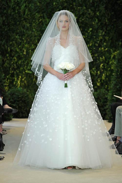 Brautkleider 2014 - die Brautmoden Trends von Vera Wang, Carolina ...