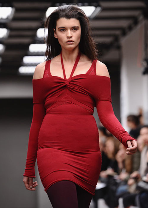 Plus size mode auf der london fashion week