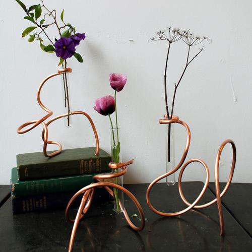 Kupfervase DIY von Design Sponge