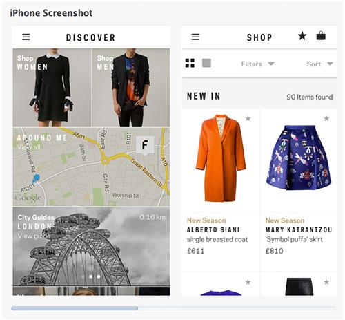Farfetch Discover Fashion App