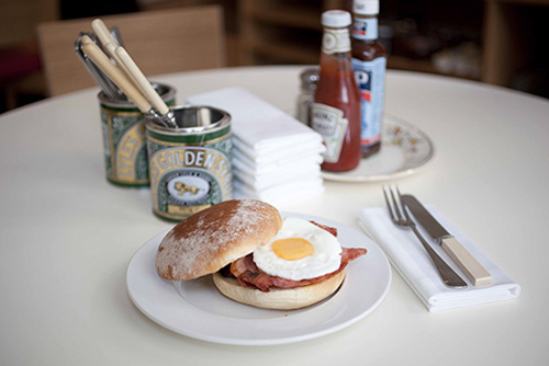 English Breakfast at its best finden Sie im Albion Café