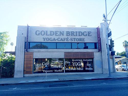 Das beste Yoga Studio in La ist Golden Bridge Yoga