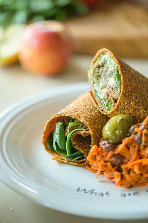 Im Gratitude Café gibt es vegane Köstlichkeiten