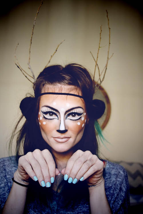 Beroemd Halloween Make-Up Tutorials und Schminkanleitungen für die &XC82