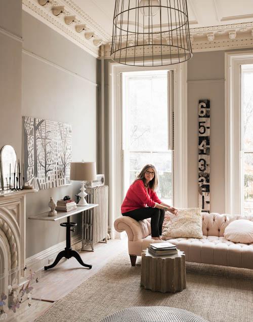 hilary robertson interior expertin f r vintage m bel flair fashion home. Black Bedroom Furniture Sets. Home Design Ideas