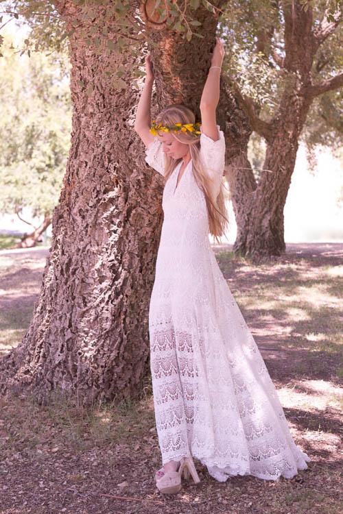 Hochzeitskleid von Daughters of Simone