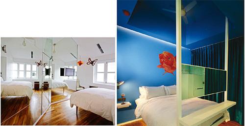 New Majestic Hotel in Singapur - alle 30 Räume sind in unterschiedlichen Themen gestaltet