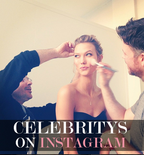 Karlie Kloss Instagram Account zur New York Fashion Week @karliekloss