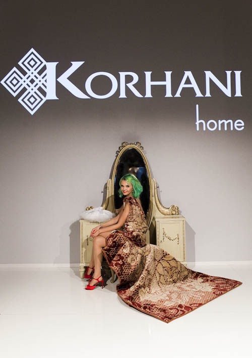 mbfw berlin korhani home flair fashion home. Black Bedroom Furniture Sets. Home Design Ideas