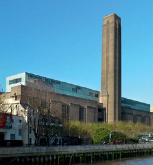 Tate Modern Art ist das weltweit größte Museum für moderne Kunst
