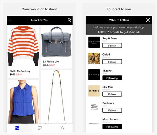 Lyst Fashion App
