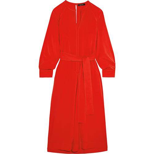 Dayna Kleid aus einer Seidenmischung von Isabel Marant