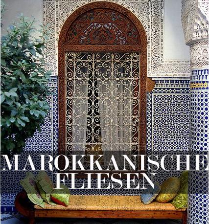 Marokkanische fliesen  Marokkanische Fliesen - der Einrichtungstrend für die Wohnung ...