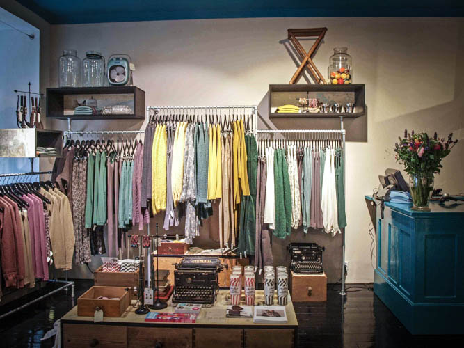 Chic clothing store