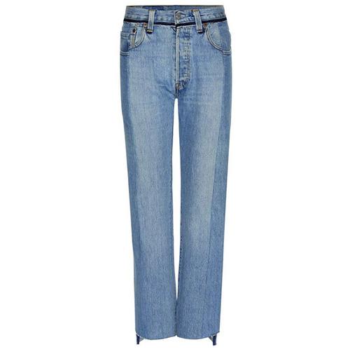 High-rise straight jeans von Vetements