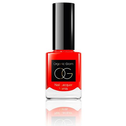 Organic Glam: Nagellack Tangerine