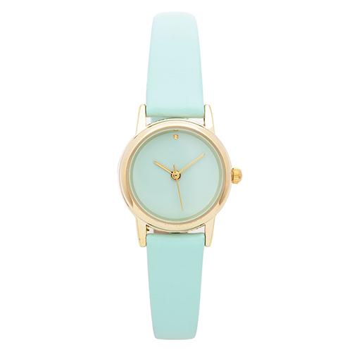 Uhr in Mintgrün von American Apparel