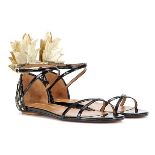 "Sandalen ""Pina Colada"" von Aquazurra, ca. 550 Euro"