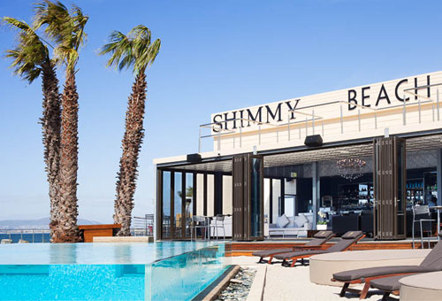 Shimmy Beach Club in Kapstadt