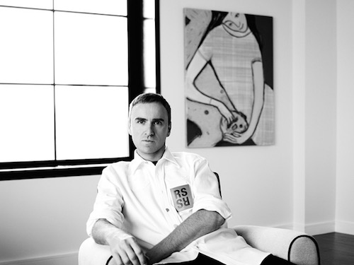 Raf Simons / © Willy Vanderperre
