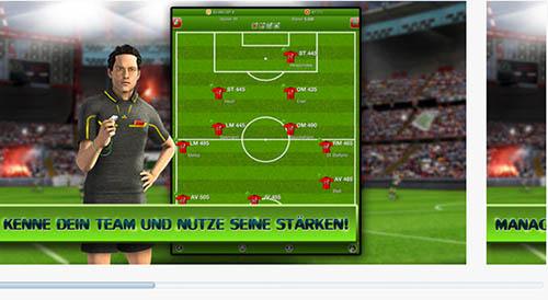 """Spiel """"Fußballcup"""" fürs iPhone"""