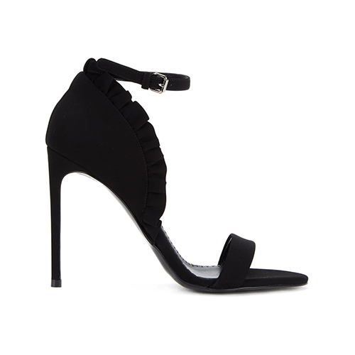 Stiletto-Sandalen mit Rüschen von Stella McCartney