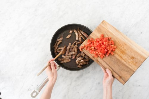 Filet-Streifen anbraten