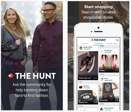 "Fashion App ""The Hunt"""