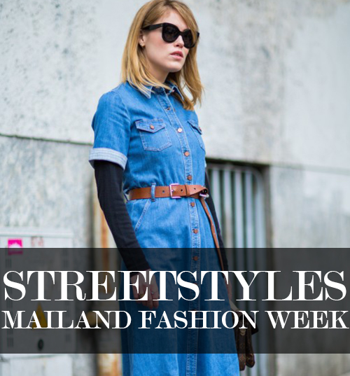 Streetstyles Mailand Fashion Week