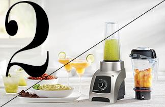 """Vitamix S30 in Edelstahl-Optik + Buch """"The Mix"""""""