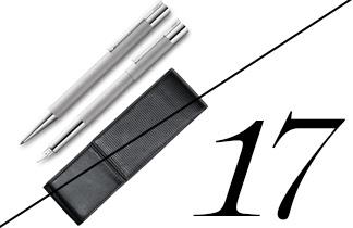 LAMY scala Schreibset mit Füller und Lederetui