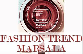 Fashion Trend Marsala: Die Pantone Trendfarbe 2015