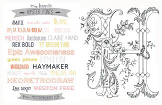 Top 6 Free Font Blogs für coole Schriften