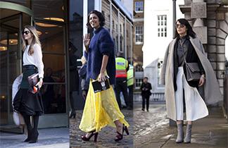 Streetstyles von der London Fashion Week H/W 2014/15