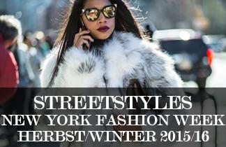 Streetstyles der New York Fashion Week H/W 2015/16