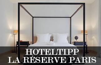 Hoteltipp: La Réserve Paris