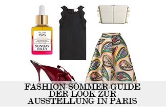 Fashion-Sommer Guide –Der Look für die Ausstellung in Paris